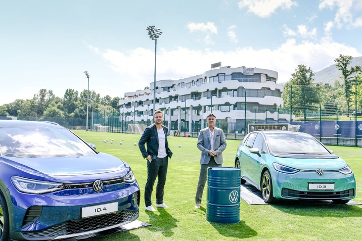 БФС и Volkswagen официално обявиха партньорството помежду си